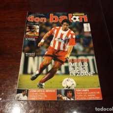 Coleccionismo deportivo: REVISTA DON BALON Nº 1422 - ALBERTINI AT DE MADRID - POSTER DEL RECREATIVO DE HUELVA 2002-03. Lote 159473926
