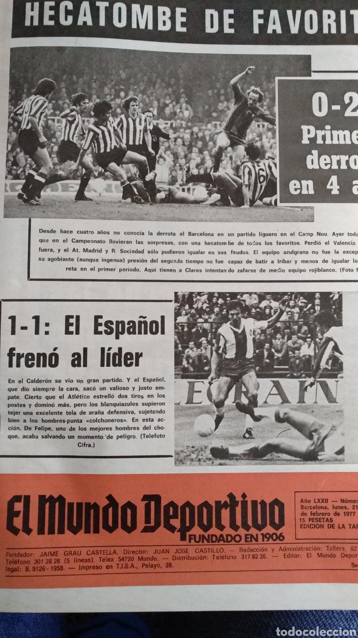 COMPILACIÓN ENCUADERNADA DE 22 EJEMPLARES DEL MUNDO DEPORTIVO (Coleccionismo Deportivo - Revistas y Periódicos - Mundo Deportivo)
