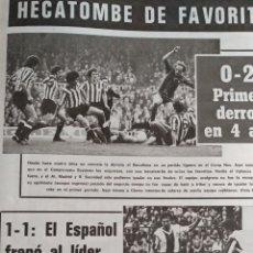 Coleccionismo deportivo: COMPILACIÓN ENCUADERNADA DE 22 EJEMPLARES DEL MUNDO DEPORTIVO. Lote 159511010