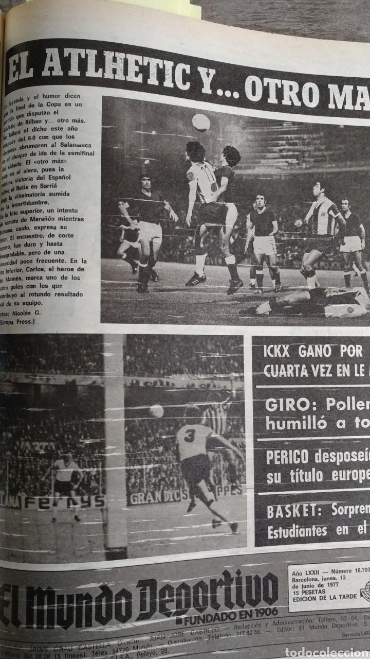Coleccionismo deportivo: COMPILACIÓN ENCUADERNADA DE 22 EJEMPLARES DEL MUNDO DEPORTIVO - Foto 15 - 159511010