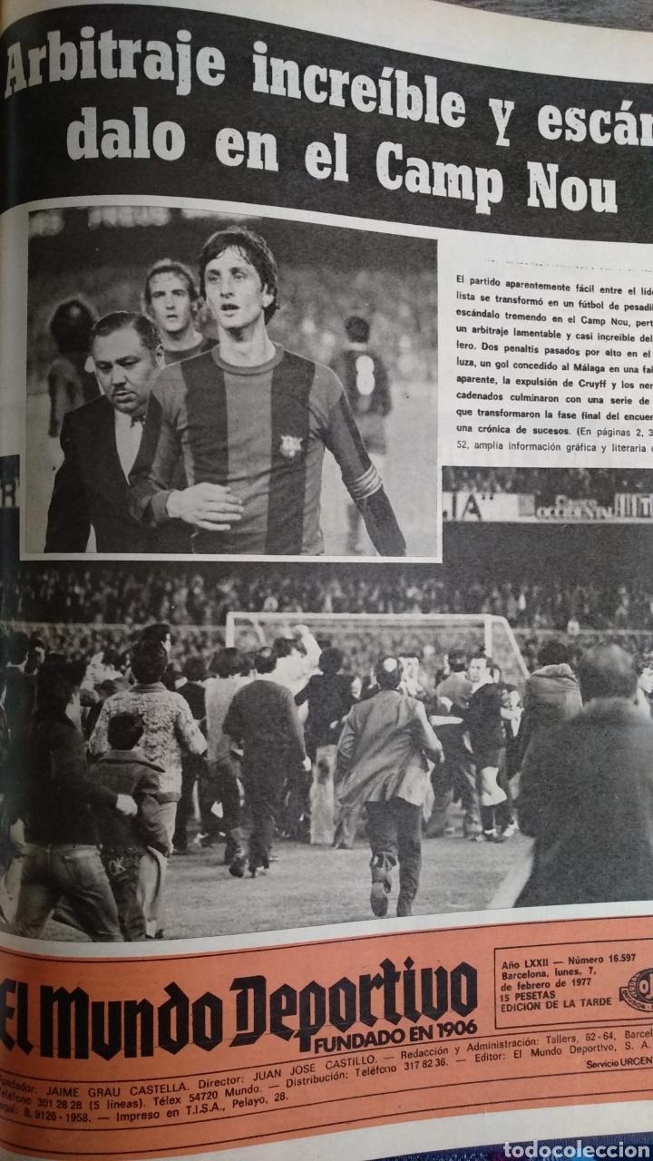 Coleccionismo deportivo: COMPILACIÓN ENCUADERNADA DE 22 EJEMPLARES DEL MUNDO DEPORTIVO - Foto 19 - 159511010