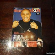 Coleccionismo deportivo - REVISTA DON BALON Nº 1435 - ROBERTO CARLOS ENTREVISTA - POSTER DE MAKAAY DEPORTIVO DE LACORUÑA - 159585214