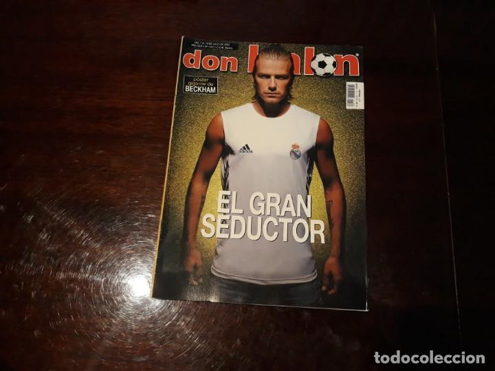 REVISTA DON BALON Nº 1447 BECKHAM , POSTER GIGANTE (Coleccionismo Deportivo - Revistas y Periódicos - Don Balón)