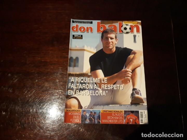 REVISTA DON BALON Nº 1458 -CRISTIANO RONALDO EL NUEVO BECKHAM - POSTER DEL SEVILLA C.F 2003-04 (Coleccionismo Deportivo - Revistas y Periódicos - Don Balón)
