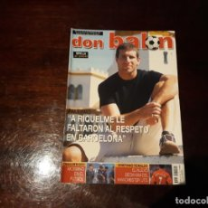 Coleccionismo deportivo: REVISTA DON BALON Nº 1458 -CRISTIANO RONALDO EL NUEVO BECKHAM - POSTER DEL SEVILLA C.F 2003-04. Lote 159658422