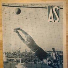 Coleccionismo deportivo: REVISTA AS DE 1936 Nº 189. FUTBOL. ESQUI, ESGRIMA, LUCHA LIBRE,HOCKEY, BOXEO, ETC. Lote 159683942