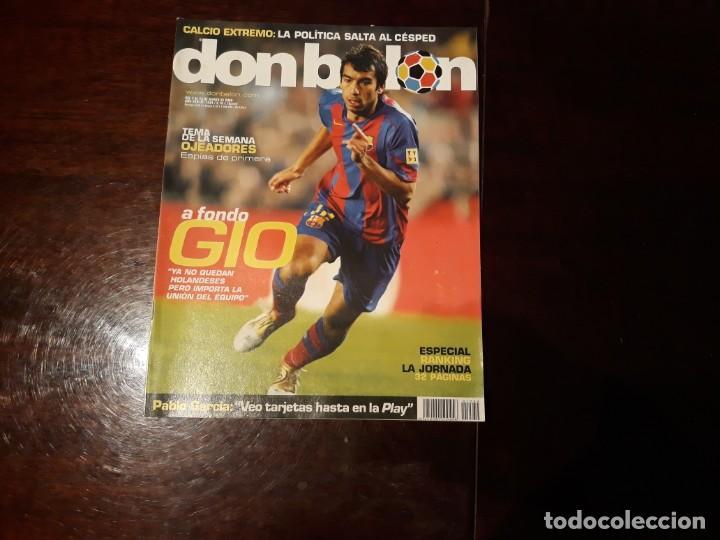 REVISTA DON BALON Nº 1534 - A FONDO GIO -POSTER DE LUQUE DEPORTIVO DE LA CORUÑA (Coleccionismo Deportivo - Revistas y Periódicos - Don Balón)