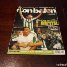 Coleccionismo deportivo - REVISTA DON BALON Nº 1548 - BETIS CAMPEON DE COPA DEL REY-POSTER DEL BETIS CAMPEON DE COPA - 159934262