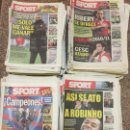 Coleccionismo deportivo: SPORT. LOTE DE 300 PERIÓDICOS SPORT DEL 2000 AL 2010. Lote 159950942