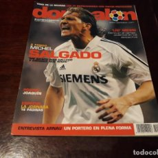 Coleccionismo deportivo: REVISTA DON BALON Nº 1568 - MICHEL SALGADO A FONDO - MESSI GENIO -POSTER DE JOAQUÍN BETIS. Lote 159986446