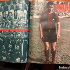 Coleccionismo deportivo: MARCA DEL 1 DE NERO DE 1952 AL 24 DE JUNIO DE 1952. Lote 160024370