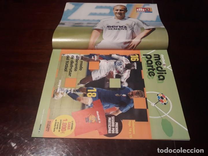 Coleccionismo deportivo: REVISTA DON BALON Nº 1607 - ATLÉTICO DE MADRID 2006-07 - PÓSTER DE CANNAVARO REAL MADRID - Foto 2 - 160182786