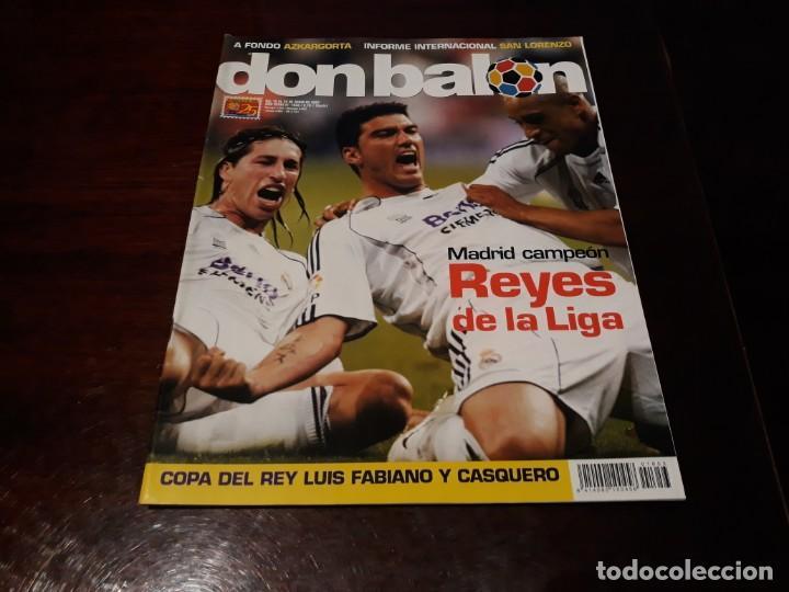 REVISTA DON BALON Nº 1653 - REAL MADRID CAMPEÓN DE LIGA - POSTER DEL MADRID CAMPEÓN 2006-07 (Coleccionismo Deportivo - Revistas y Periódicos - Don Balón)