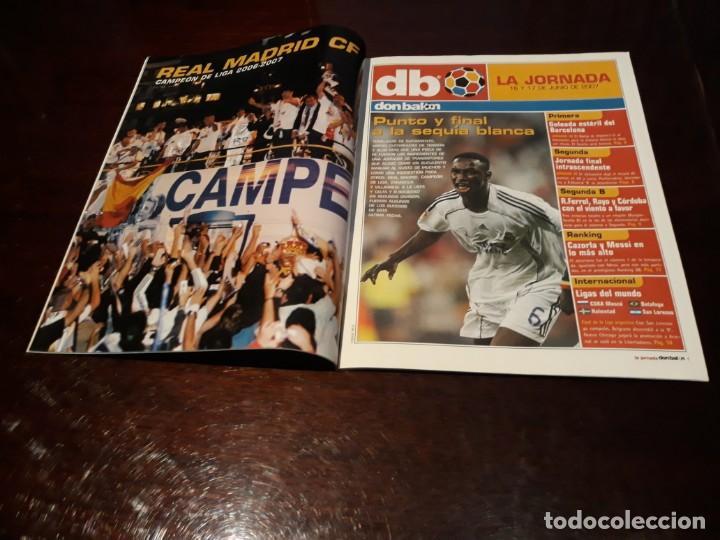Coleccionismo deportivo: REVISTA DON BALON Nº 1653 - REAL MADRID CAMPEÓN DE LIGA - POSTER DEL MADRID CAMPEÓN 2006-07 - Foto 2 - 160233382