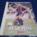 Coleccionismo deportivo: PIN SPORT LES FITXES DEL BARÇA ( DE LA PEÑA ) NUEVO SIN ABRIR. Lote 160307682