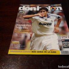 Coleccionismo deportivo: REVISTA DON BALON Nº 1670 - A FONDO INIESTA - POSTER DE MESSI BARCELONA C.F. Lote 160330782