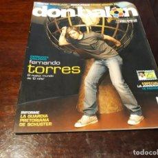 Coleccionismo deportivo: REVISTA DON BALON Nº 1685 - ENTREVISTA A TORRES -RONALDINHO PIERDE DINERO EN EL BARCA- POST HUNTELAR. Lote 160362634