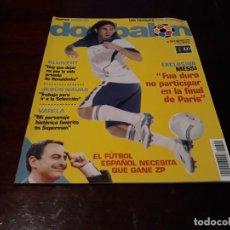 Coleccionismo deportivo: REVISTA DON BALON Nº 1690 - EXCLUSIVA MESSI - POSTER DE BENZEMÁ .. Lote 160363558