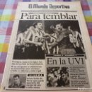 Coleccionismo deportivo: MUNDO DEPORTIVO(4-11-91)LOGROÑÉS 2 BARÇA 2,ESPAÑOL 0 VALLADOLID 2,VAN BASTEN,MAURI(SANT ANDREU). Lote 160366966