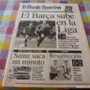 Coleccionismo deportivo: MUNDO DEPORTIVO(11-11-91)BARÇA 2 OSASUNA 0,TEIÁ C.F.SALA FEMENINO,BILBAO 0 ESPAÑOL 2,BEISBOL. Lote 160383082