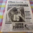 Coleccionismo deportivo: MUNDO DEPORTIVO(25-11-91) LAUDRUP MANIA !!!!EN MONTJUICH SAN ANDRÉS 1 NASTIC 1,TOYOTA 4-RUNNER. Lote 160385746