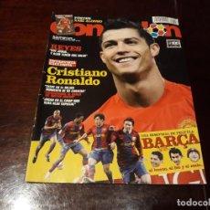 Coleccionismo deportivo: REVISTA DON BALÓN Nº 1696 - CRISTIANO RONALDO ENTREVISTA - BARCA - MANCHESTER -POSTER XABI ALONSO. Lote 160454426