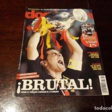 Coleccionismo deportivo: REVISTA DON BALON Nº 1707 - ESPAÑA CAMPEONA DE EUROPA - POSTER DE LA SELECCIÓN ESPAÑOLA CON COPA . Lote 160471002