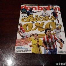Coleccionismo deportivo: REVISTA DON BALON Nº 1726- LOS CHICOS DE ORO -BUTRAGUEÑO A FONDO- POSTER DE MESSI. Lote 160480654
