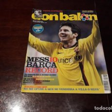 Coleccionismo deportivo: REVISTA DON BALON Nº 1734 - MESSI 10 , RECORD DE MARCAS - POSTER DE HUNTELAAR . Lote 160503850