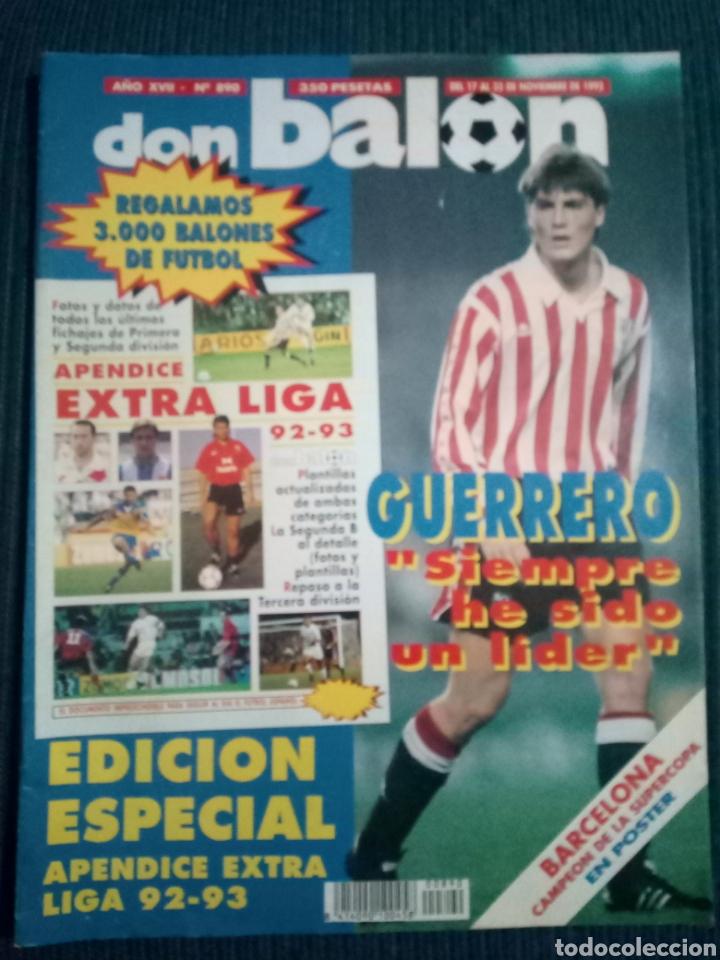 DON BALON 890 POSTER BARCELONA CAMPEON SUPERCOPA 1992 APENDICE EXTRA LIGA 92 93 (Coleccionismo Deportivo - Revistas y Periódicos - Don Balón)