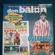 Coleccionismo deportivo: DON BALON 890 POSTER BARCELONA CAMPEON SUPERCOPA 1992 APENDICE EXTRA LIGA 92 93. Lote 160506150