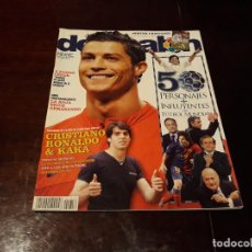 Coleccionismo deportivo - REVISTA DON BALON Nº 1756 - 50 PERSONAJES MAS INFLUYENTES DEL FUTBOL MUNDIAL -POSTER CRISTIANO - 160584546