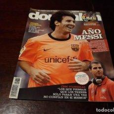 Coleccionismo deportivo: REVISTA DON BALON Nº 1770 - AÑO MESSI - CESC A FONDO - POSTER XAVI ,BARCELONA . Lote 160661138