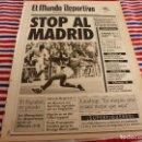 Coleccionismo deportivo: MUNDO DEPORTIVO(23-12-91)LAUDRUP,!!R.MADRID 0 OVIEDO 0!!,LERIDA 1 REAL MADRID 0,PAPIN,HOSPITALET. Lote 160771634