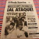 Coleccionismo deportivo: MUNDO DEPORTIVO(6-1-92)MALLORCA 1 BARÇA 2,ESPAÑOL 0 BURGOS 0, !! MILAN 5 NAPOLES 0 !!!LAUDRUP,BUSH.. Lote 160772038
