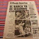 Coleccionismo deportivo: MUNDO DEPORTIVO(13-1-92)BARÇA 2 VALLADOLID 1,VERONA 0 MILAN 1(ANCELLOTTI)NOCHE DE MUNDO DEPORTIVO. Lote 160772178