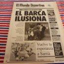 Coleccionismo deportivo: MUNDO DEPORTIVO(27-1-92)ESPAÑOL 2 R.SOCIEDAD 0,MILAN,LUIS SUAREZ(INTER)MIKE TYSON,EDDIE EDWARDS.. Lote 160772898