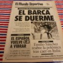Coleccionismo deportivo: MUNDO DEPORTIVO(3-2-92)R.SOCIEDAD 2 BARÇA 1,ESPAÑOL 1 ZARAGOZA 0,CHRISTIAN FORMULA 1.. Lote 160773114