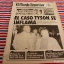 Coleccionismo deportivo: MUNDO DEPORTIVO(6-2-92)MIKE TYSON,AMISTOSO GIRONA 1 SIGMA OLOMOUC 1,COPA LIBERTADORES.. Lote 160773414