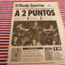 Coleccionismo deportivo: MUNDO DEPORTIVO(10-2-92)!!! VALLADOLID 2 R.MADRID 1 !!! INTER,MILAN Y JUVENTUS,OVIEDO 1 ESPAÑOL 0. Lote 160773646