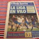Coleccionismo deportivo: MUNDO DEPORTIVO(16-2-92)ZARAGOZA 0 BARÇA 4,EUSEBIO(PORTUGAL)MAGIC JOHNSON,FERRER(OLIMPIC)HOCKEY ONCE. Lote 160773786
