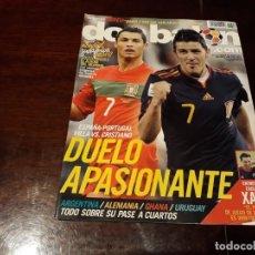 Coleccionismo deportivo: REVISTA DON BALON Nº 1809 - DUELO APASIONANTE , ESPAÑA-PORTUGAL - ENTREVISTA A XAVI . Lote 160781086
