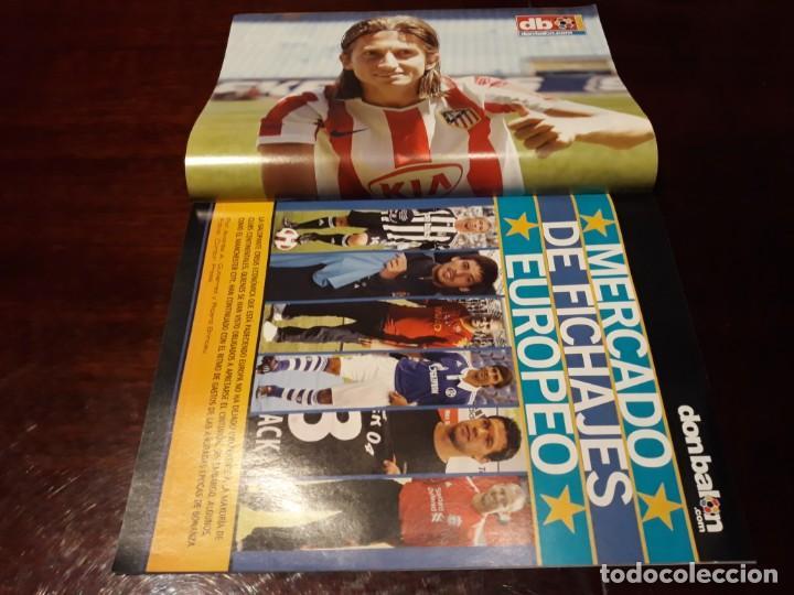 Coleccionismo deportivo: REVISTA DON BALÓN Nº 1814 - RAUL GUTI , NUEVA VIDA - MARADONA EL POR QUÉ DE SU MARCHA - ADRIANO - Foto 2 - 160794042