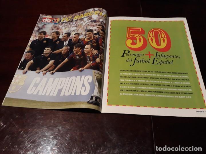 Coleccionismo deportivo: REVISTA DON BALON Nº 1818 - 50 PERSONAJES MAS INFLUYENTES DEL FUTBOL ESPAÑOL - POSTER DEL BARCELONA - Foto 2 - 160795882