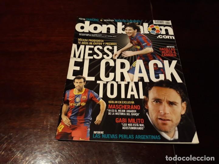 REVISTA DON BALON Nº 1822 - MESSI EL CRACK TOTAL - POSTER DE TAMUDO (Coleccionismo Deportivo - Revistas y Periódicos - Don Balón)