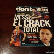 Coleccionismo deportivo: REVISTA DON BALON Nº 1822 - MESSI EL CRACK TOTAL - POSTER DE TAMUDO. Lote 160797658
