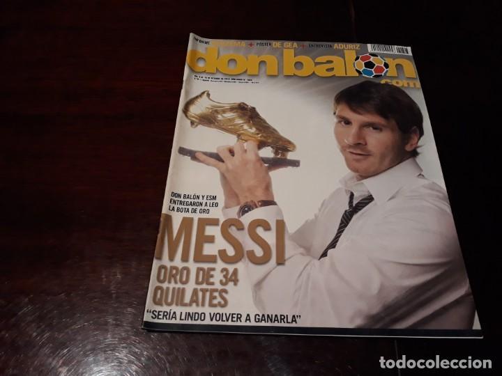 REVISTA DON BALÓN Nº 1823 - MESSI , BOTA DE ORO - POSTER DE GEA (Coleccionismo Deportivo - Revistas y Periódicos - Don Balón)