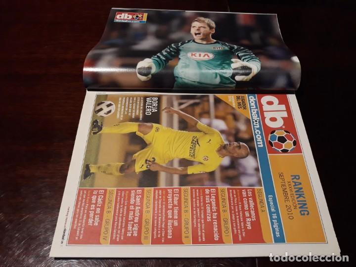 Coleccionismo deportivo: REVISTA DON BALÓN Nº 1823 - MESSI , BOTA DE ORO - POSTER DE GEA - Foto 2 - 160797914