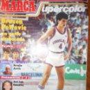 Coleccionismo deportivo: MARCA SUPERCOLOR 1986 DRAZEN PETROVIC, MICHEL, POSTER ZUBIZARRETA,.... Lote 160799718