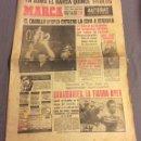 Coleccionismo deportivo: DIARIO MARCA. JUNIO 1963. EL CAUDILLO ENTREGO LA COPA A SEGARRA. Lote 160802202